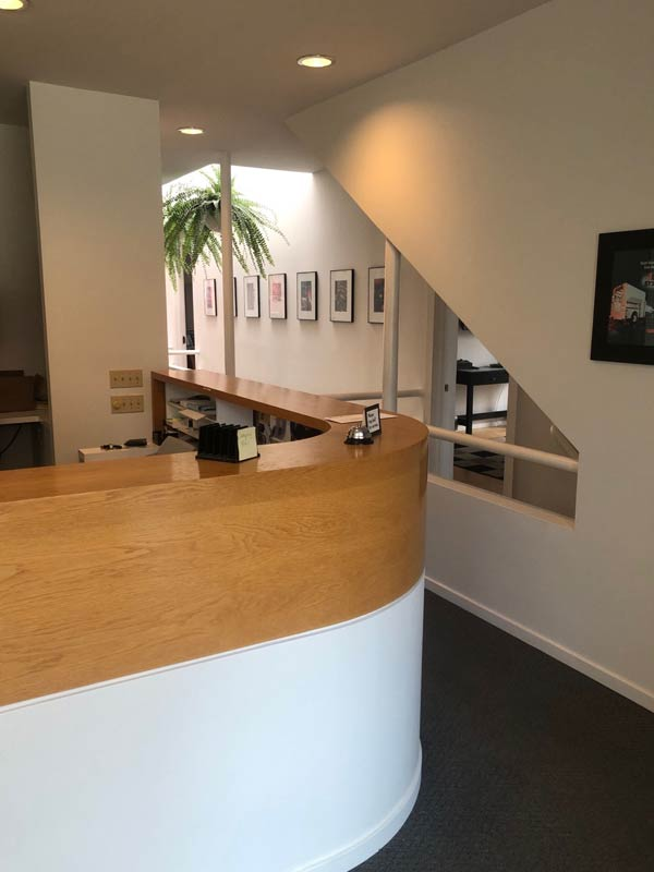 103 E. Indiana Ave., Reception Area