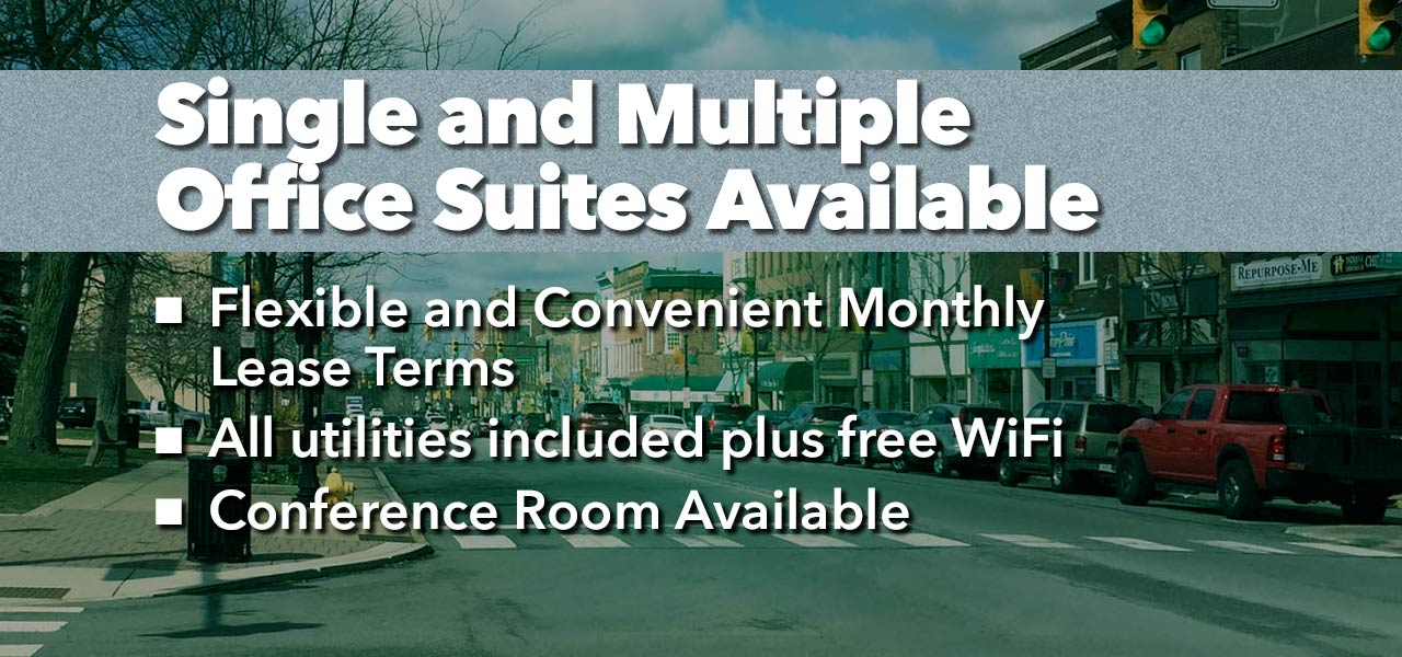 Valpo Partners, Single and Multiple Office Suites Available